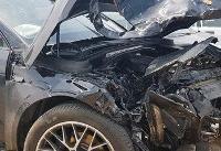 آخرین جزئیات از تصادف خبرساز خودروی پورشه | راننده خاطی خود را تسلیم پلیس کرد