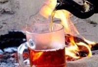 چای داغ خطر ابتلا به سرطان مری را ۱۰ برابر افزایش می دهد