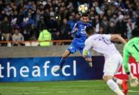 پیروزی استقلال برابر العین در نیمه اول