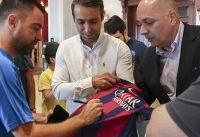 ژاوی به خبرنگار اسپانیایی درباره بازی خداحافظیاش در آزادی: شگفتزده میشوید!