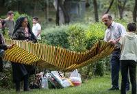 سفرههای افطاری در پارک های تهران