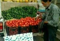 تصویری از بخشندگی یک میوه فروش +عکس