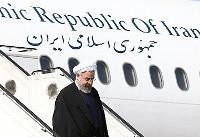 روحانی وارد شهرستان ماکو شد