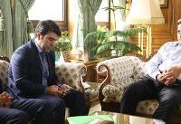دیدار شهردار پلدختر با حناچی