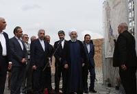 سفر روحانی به ماکو و افتتاح یک سد+تصاویر