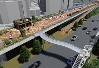 استفاده از اجزای سازه پل فلزی کوی نصر برای برپایی پل سبز زندگی