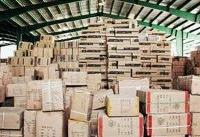 کسف کالای قاچاق از انبار یک تعاونی مسافری در ترمینال غرب