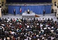 رهبر انقلاب: مشکلات نظام پارلمانی بیش از ریاستی است | جوان انقلابی را تأیید میکنم اما خطا را نه