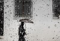 تداوم بارشهای رگباری در تعدادی از استانها