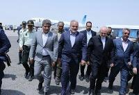 ظریف از بندر چابهار بازدید کرد