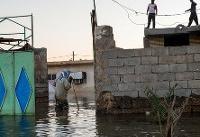 امدادرسانی به ۵۵۰ نفر در سیل روز گذشته خراسان جنوبی