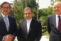 مدیر سیاسی وزارت خارجه آلمان با عراقچی دیدار کرد