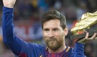 لیونل مسی برنده کفش طلای اروپا شد