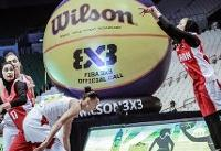 شکست دختران بسکتبال سه نفره ایران در اولین بازی کاپ آسیا