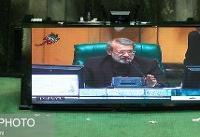 لاریجانی رئیس ماند/پزشکیان و مصری نواب رئیس شدند