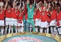 قهرمانی بایرن مونیخ در جام حذفی/ دوگانه داخلی تکمیل شد