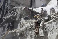 Syrian air raids hit crowded residential areas in Idlib