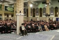 مراسم سوگواری سالروز شهادت امام علی (ع) در حضور رهبر انقلاب  برگزار شد