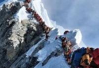 ازدحام در قله اورست تنها عامل مرگ کوهنوردان نبوده است