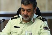 پیام تقدیر فرمانده ناجا ازفرمانده کل سپاه در پی انهدام پهپاد جاسوسی آمریکا
