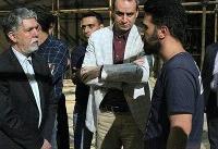 وزیر ارشاد به تئاتر شهر آمد/ پیگیری حاشیهها و عملیات بازسازی
