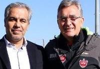عرب: قرارداد برانکو فسخ نمیشود/ به مربی دیگری فکر نمیکنیم