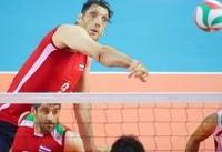 چهارمین پیروزی والیبال نشسته ایران در قهرمانی آسیا