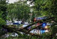 ۲۰ زخمی در طوفان شرق آلمان