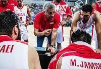 برنامه کامل تیم ملی بسکتبال در سه تورنمنت اروپایی/برگزاری ۸ دیدار
