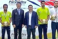 مردان والیبال نشسته کشورمان قهرمان آسیا و اقیانوسیه شدند