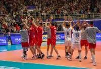 پیروزی تیم ملی ایران برابر لهستان در ست نخست