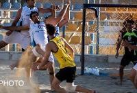 اولین پیروزی تیم ملی هندبال ساحلی در قهرمانی آسیا