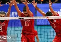 لیگ ملتهای والیبال/ ایران ۱ - روسیه صفر