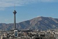 کیفیت هوای تهران در شرایط سالم