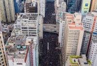China stays mum as Hong Kong protests extradition bill