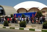 ویدئو / حال و هوای تماشاگران والیبال، قبل از دیدار با روسیه