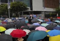 The Latest: Hong Kong police seek to defuse public anger