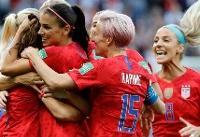 درآمد تیم فوتبال زنان آمریکا بیش از مردان است