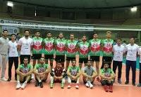 پیروزی تیم ملی والیبال دانشجویان برابر تیم نوجوانان