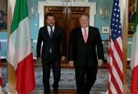 وزیر کشور راست گرای افراطی ایتالیا در کاخ سفید