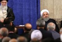 روحانی: در مسیر پیشرفتیم؛ جهانگیری: شرایط کشور خاص است