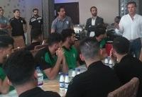 آغاز اردوی گروه دوم بازیکنان تیم ملی فوتبال امید