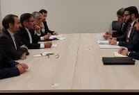 دیدار مشاور امنیت ملی رییسجمهور افغانستان با شمخانی