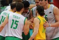تیم ملی والیبال استرالیا وارد اردبیل شد