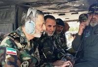 بازدید فرمانده کل ارتش از پایگاه هوانیروز اصفهان