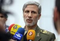 وزیر دفاع ایران حمله به نفتکشها را تکذیب کرد: فیلمها «مورد تردید» است