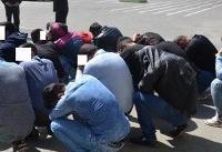 دستگیری ۳۶۶ اوباشگر و مزاحم محلات در پایتخت