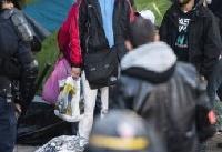 یورش پلیس فرانسه به کمپ مهاجران در پاریس