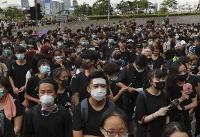 Protesters demand that embattled Hong Kong leader resign