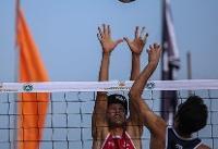 تیم والیبال ساحلی ایران به مرحله حذفی صعود کرد